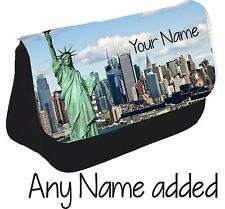 Personnalisé New York City Skyline Trousse Make Up Bag NY