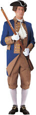 Revolutionary Solider Costume Dxl Blue / Brown  Dxl 11 Pc Lined Uniform Size 40