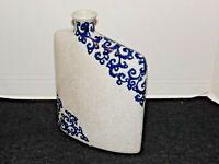 "Elegant Ceramic Vase Mid-Century Modern 10"" tall"