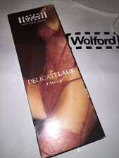 New Wolford Body Culture JEWEL T-STRING Thong LARGE COLOR: BLACK 61881 RARE
