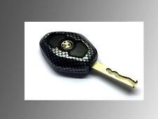 Carbon Fiber Remote Key Side Cover For BMW Remote Key E46 E38 E39 Z3 Z4 E53 E83
