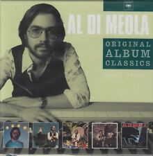 Al Di Meola / Elegant Gypsy, Casino, Land of Midnight, Splendido (5 CDs, NEU!)