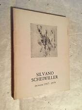 ELDA FEZZI SILVANO SCHEIWILLER INCISIONI 1957-1979 PROPOSTE N.18