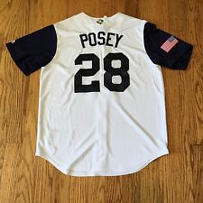 100% Authentic Buster Posey USA 2017 Replica Jersey World Baseball Classic Sz M