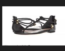 Alexander Mcqueen Strap Leather Sandals