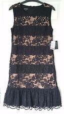 Nine West LBD lace layered dress size 8 (UK) NWT