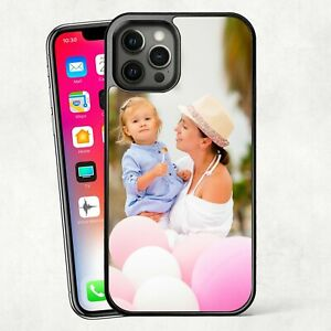 Personalised PHOTO Case Phone Cover for iPhone - plastic any Image / Text / Logo