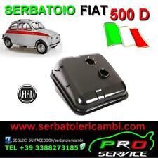 SERBATOIO benzina NUOVO Originale per FIAT 500 D in ITALIA fuel tank 500D