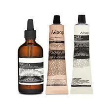 Aesop Parsley Seed Anti-Oxidant Serum + Cleansing Masque + Aromatique Hand Balm