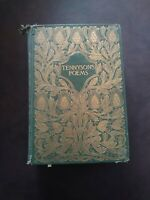 Antique 1897 Tennyson's Poems Illustrated The Poetical Works of Alfred Tennyson