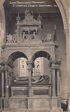 STAMFORD (Lincolnshire) :Lord Treasurer's Monument,St Martin's Church  RP-DOLBY