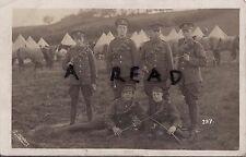 Soldier group Duke of Lancaster's own Yeomanry Greystoke Cumberland 1911