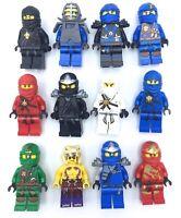 LEGO NINJAGO MINIFIGURES KAI ZANE JAY NINJAS GENUINE COLLECTIBLES TOYS YOU PICK!
