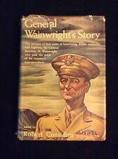1946 General Wainwright's Story By Robert Considine.1st Edition. HC DJ.