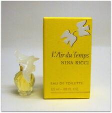 L'Air du temps Nina Ricci Eau de toilette 2.5 ml. 0.08 fl.oz. mini perfume