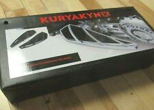 KURYAKYN- 5770 - PHANTOM DRIVER FLOORBOAR SET - CHROME - INDIAN MOTORCYCLE