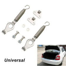 Pair Universal Racing Spring Car SUV Trunk Hood Lock Hinge Kit Steel Length 5.2""