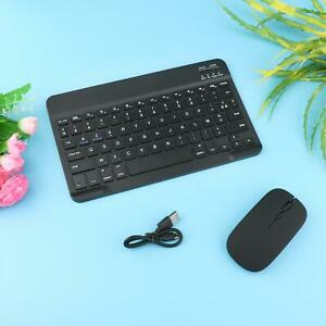 Rechargeable Bluetooth Keyboard & Mouse Combo 78 Keys Russian for Computer