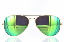Ray Ban Green Flash Aviator RB3025 112/19 58 mm lens size