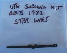 VINTAGE STAR WARS ESB SURVIVAL KIT BELT 1980 ORIGINAL PART NEVER USED STILL FLAT