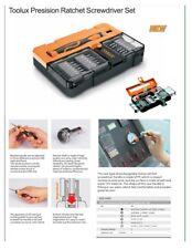 20pc High Precision Ratchet Screwdriver Set: 5pt Pentalobe 6pt Torx Hex Slot Ph