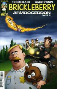 Brickleberry #2A VF/NM; Dynamite | save on shipping - details inside