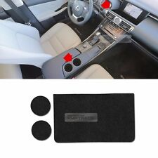 GPS Lower Cover Cup Holder Nonslip Tray Pad 3p for LEXUS 2014-2016 IS250 IS300H