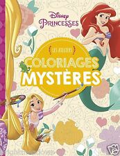 Disney Princesses Ariel Little Mermaid Mystery By Number Adult Colouring Book