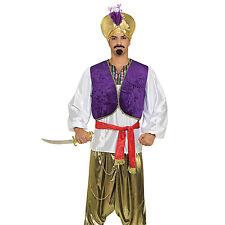 Chemise + Gilet Désert Prince Costume pour Hommes Aladdin Sultan Homme