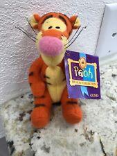 "Disney Winnie the Pooh SOFT TIGGER 5"" Plush STUFFED ANIMAL Toy NEW With Tag Gund"