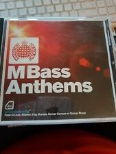 MINISTRY OF SOUND M BASS ANTHEMS, 5 Track, Promotional CD Album