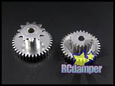 GPM ALUMINUM MAIN 19T & MIDDLE 37T GEAR KYOSHO 1/8 MOTORCYCLE MOTOR BIKE