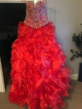 RED Quinceanera or Sweet Sixteen Dress