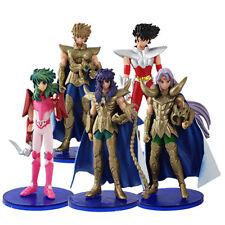 SAINT SEIYA Shun Milo Aioria Mu PVC Figure Set of 5pcs Type C