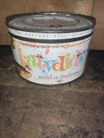 Vintage Retro Kathryn Beich Katydids 9 Oz.Tin Can.
