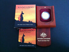 2011 $25 Kangaroo At Sunset Gold Proof Coin Rare