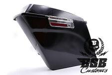 Kofferset Harley Davidson stretched Touring Bj 93 - 13 Koffer schwarz komplett