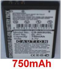 Batterie 750mAh type BL-6U Pour Nokia 8820