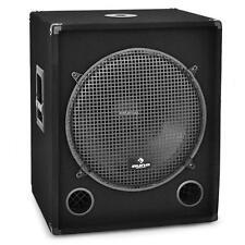 """46CM (18"""") DJ PA BASS LAUTSPRECHER BOX SUBWOOFER 1200W"""
