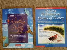 Reading Poetry Middle Grades 10 Fabulous Forms Of Poetry Homeschool Grades 4-8