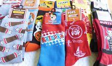 Novelty Crazy Mens Crew Socks - Disney Muppet's Nickelodeon Star Wars Pops Woody