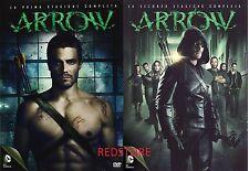Arrow - Stagione 1 e 2 (10 DVD) Cofanetti Singoli Serie TV  Italiani Sigillati