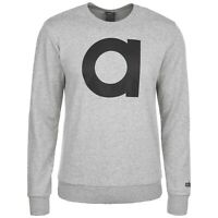ADIDAS E BRAND CREW Herren Essentials Sweatshirt , DU0433, Grau, Neu