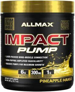 ALLMAX Nutrition Impact Pump Pineapple Mango 30 Servings