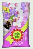 Baby Bio Orchid Compost 5L Bark Peat Compost For Potting or Re potting. 5 Litre