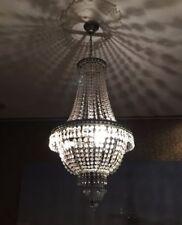 Lámpara colgante de iluminación de techo de interior de color principal transparente de cristal