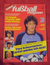 Kicker Fußball Magazin 1983 Nr 5 , mit Super-Wendeposter Bruno Pezzey , TOP