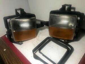 2003 2004 2005 2006 2007 Cadillac Cts Fog Lamp Light SET