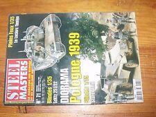 $$$ Revue Steel Masters N°71 Pologne 1939  Sturer Emil  Leclerc Tamiya  SdKfz 25