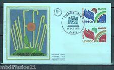1978//ENVELOPPE SOIE**FDC 1°JOUR!!**U.N.E.S.C.O** LA PAIRE//TIMBRES.Y/T 56/7